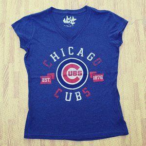 Chicago Cubs Touch by Alyssa Milano Shirt Medium M